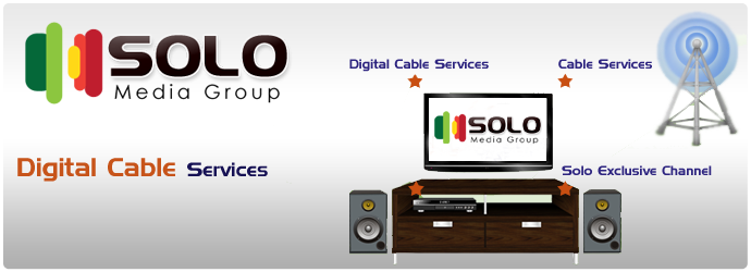 digital cable service, television service